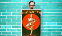 The Tin Man The Wizard Of Oz Art - Wall Art Print Poster   - Musical Poster Geekery